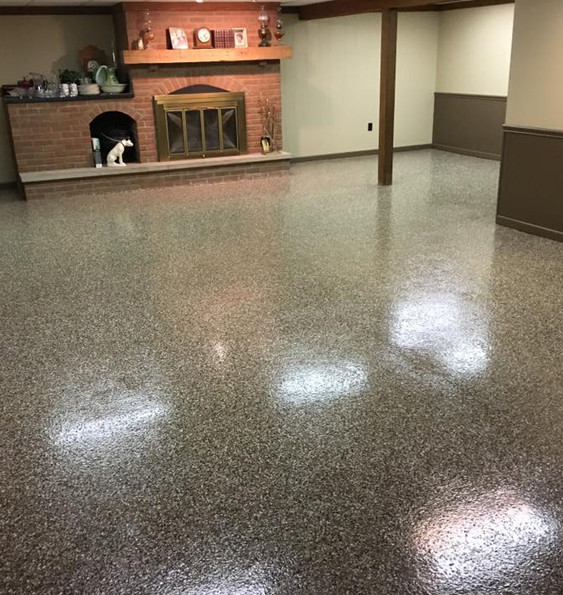 Epoxy Floor Basement Moisture