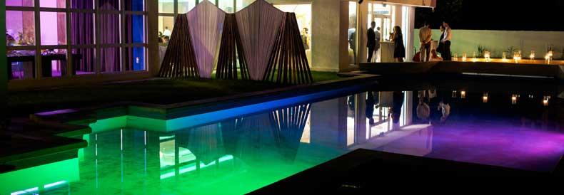 RGB Pool Lighting